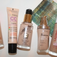 My Top 5 Drugstore Foundations