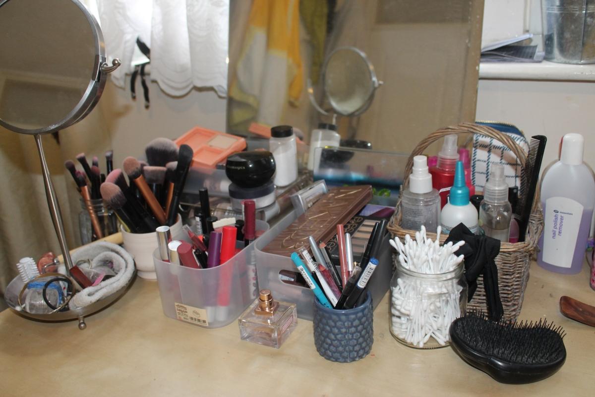 Makeup Reorgansing