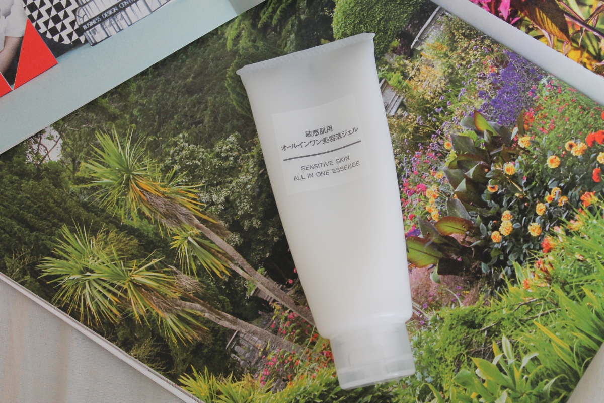 Muji Sensitive skin all in one essence Review